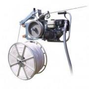 Моторизированная лебедка для раскатки СИП с троссом