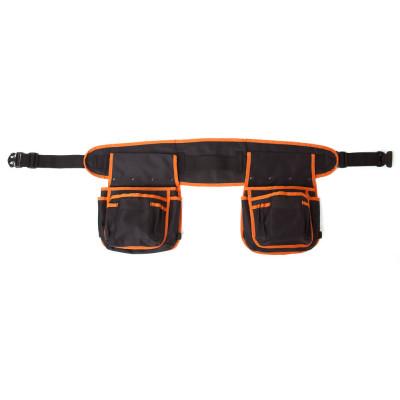 Пояс монтажника с двумя карманами для временного хранения инструмента при электромонтажных работах