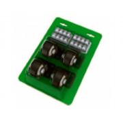 Комплект роликов для модульного ящика (4шт.)