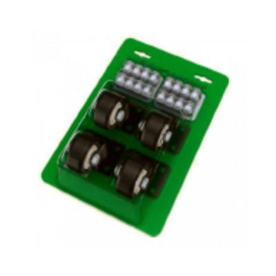 Комплект роликов для модульного ящика (4шт.) от компании «ШТОК»